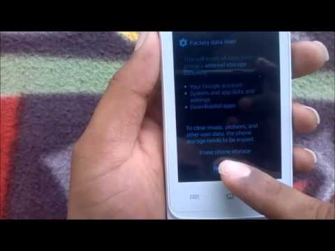How to Hard Reset HTC Salsa and Forgot Password Recovery, Factory Reset
