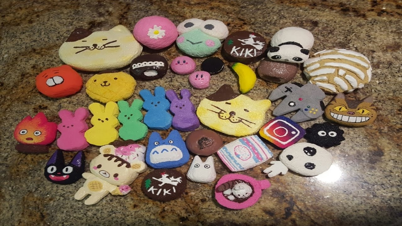 Homemade Squishy Collection 2014 : Homemade squishy collection - YouTube