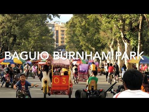 Burnham Park Baguio City 2019