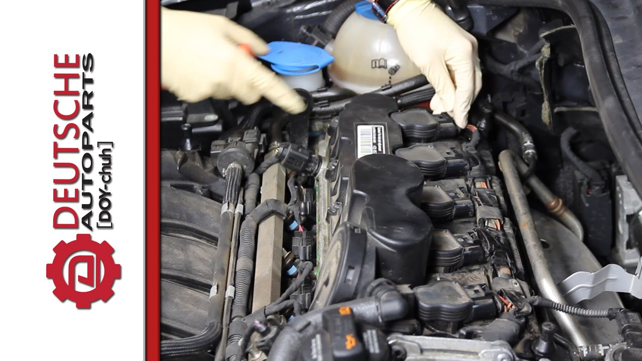 How to (DIY) Replace Ignition Coils on a VW 25L 5 Cylinder Engine  YouTube