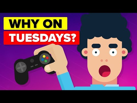 Why Do Video Games Come Out on Tuesdays?