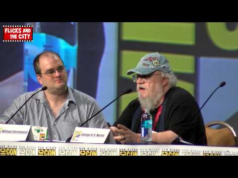 George R.R. Martin Comic Con Interview - Game of Thrones & Comic Books