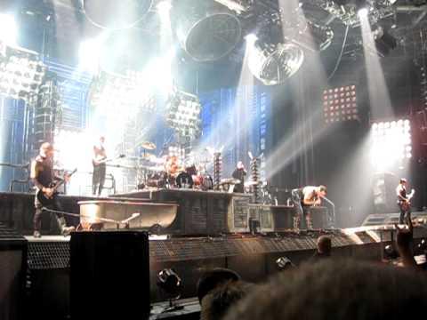 Rammstein Live in Berlin, 21.12.09 - ich tu dir weh