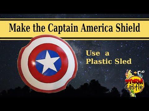 Make the Captain America Shield YouTube