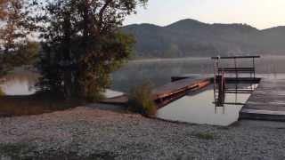 2012.07.27 Sunrise at Keutschacher See, Southern Austria