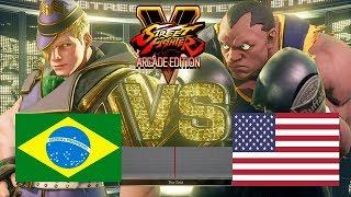 Street Fighter V AE - Spinal (Ed) vs SMUG (Balrog)