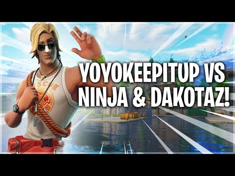 Ninja and Dakatoz vs Yoyokeepitup