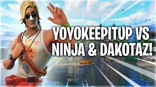 Ninja and Dakotaz vs Yoyokeepitup
