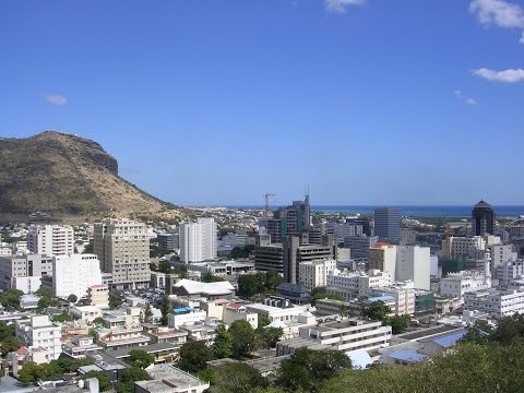 Port Louis es la capital de Mauricio, puerto, jardín botánico, frente al mar, la industria