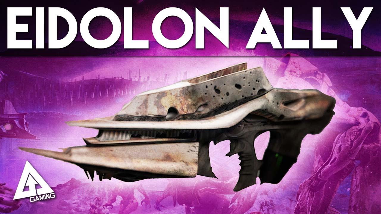 Destiny Eidolon Ally Legendary Auto Rifle Next Stop Necrochasm Youtube