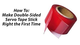 Life Hack: How to Make Double Sided Tape Stick Right the First Time