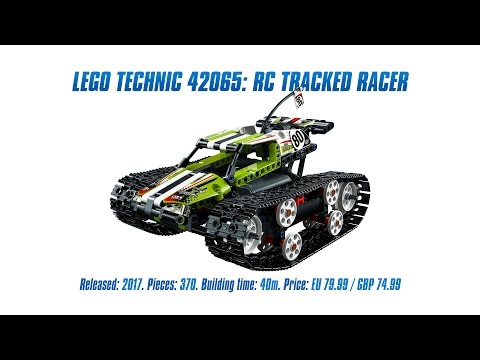 LEGO Technic 42065: RC Tracked Racer Unboxing, Speed Build