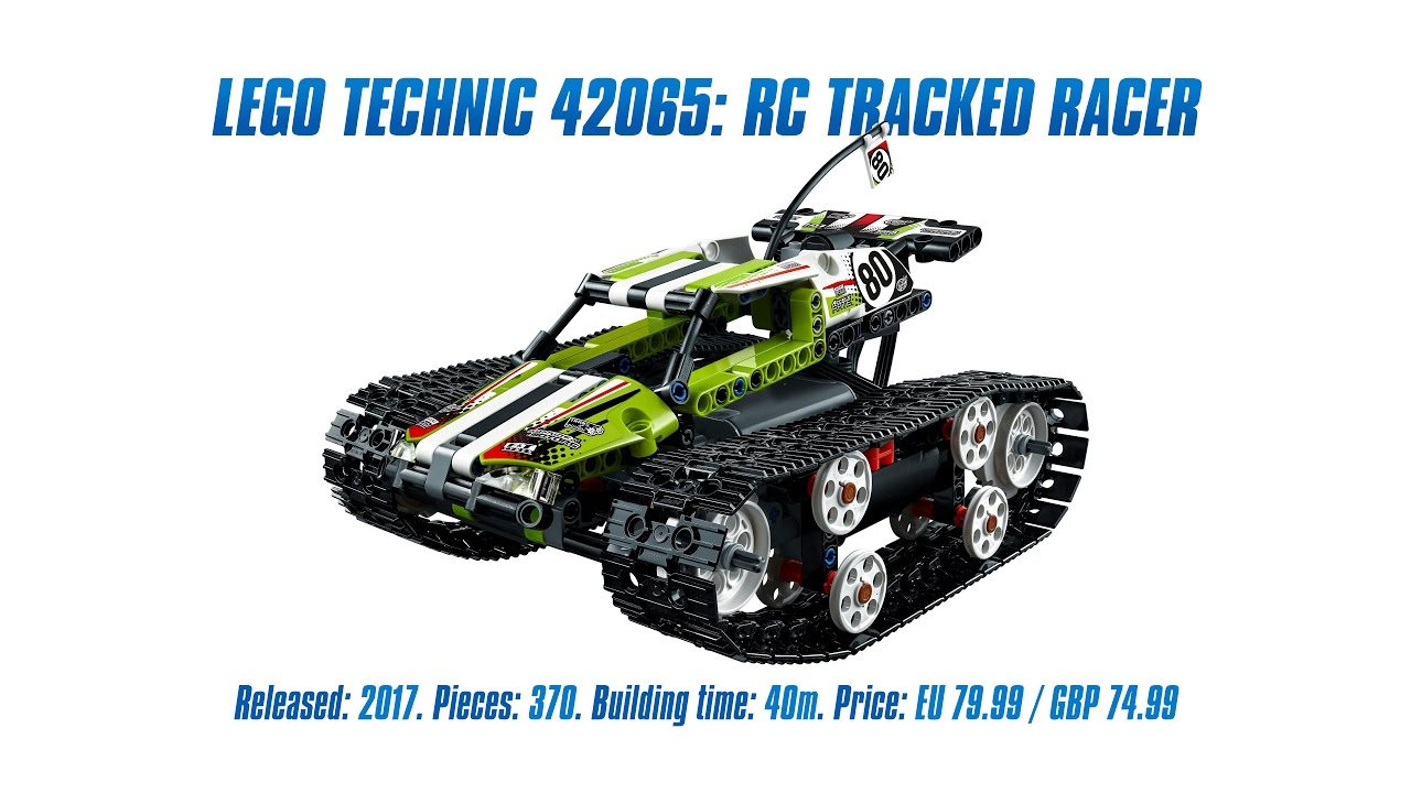 lego technic 42065 rc tracked racer unboxing speed build. Black Bedroom Furniture Sets. Home Design Ideas