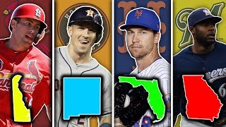 BEST MLB PLAYER FROM EVERY STATE