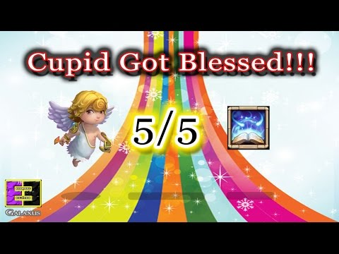 Castle Clash-Cupid Gets Amazing 5/5 Revitalize With Talent Refresh Card