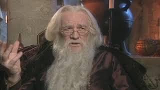 Harry Potter - Richard Harris on Albus Dumbledore