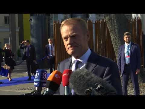 Ταλίν: Δήλωση του Ντόναλντ Τουσκ κατά την άφιξή του στην άτυπη Σύνοδο Κορυφής της Ε.Ε.