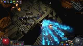 path of exile 1 month hardcore flashback race day 1 vlog incinerate build