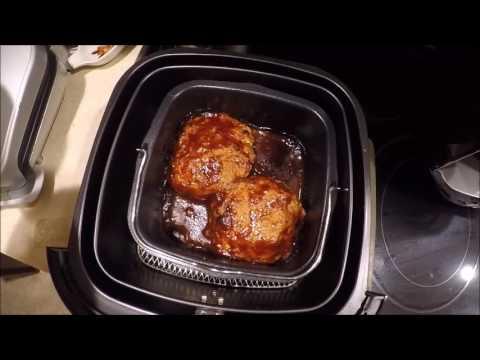 nuwave brio air fryer chicken burgers