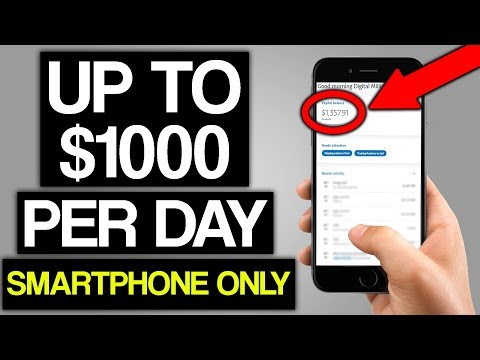 Up To $1,000 PER DAY Using ONE App On Your Phone (Make Money Online)