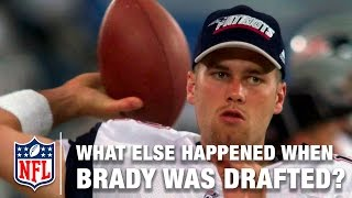 Tom Brady went 199th Overall… But what else happened during the 2000 NFL Draft??? | NFL Draft Rewind