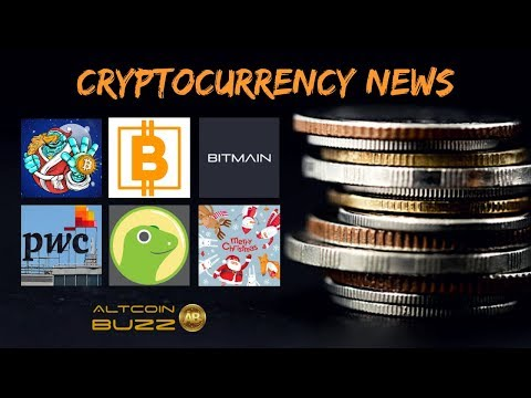 Merry Xmas, Bitcoin BTC, PWC, Bitmain and more in Today's Crypto News