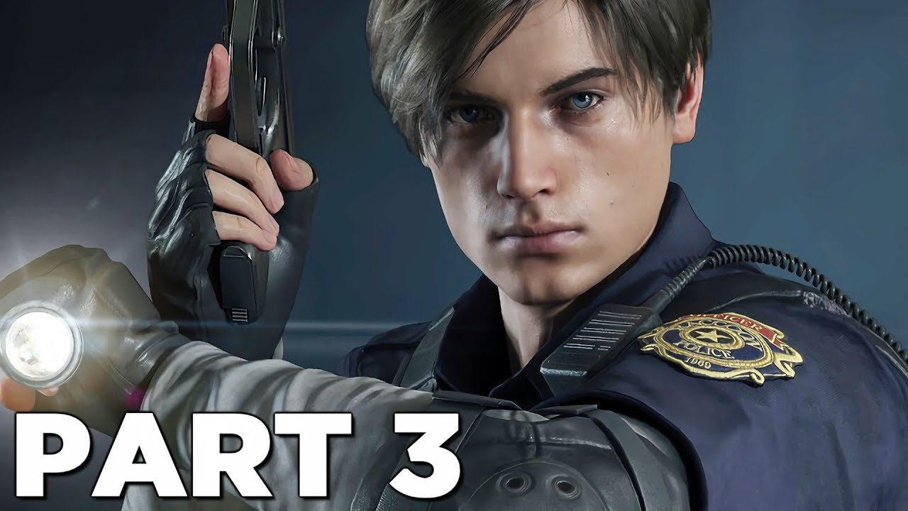 Resident Evil 2 Remake Walkthrough Gameplay Part 3 Dr Birkin