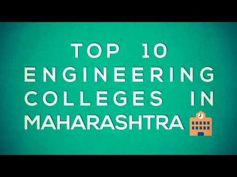 Top 10 Engineering Colleges 2018 In Maharashtra After Giving MHT-CET