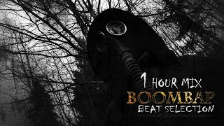 1 Hour Boom Bap Hip Hop Instrumental Mix | Dark Angry Golden Era Rap Beat Selection (2018)
