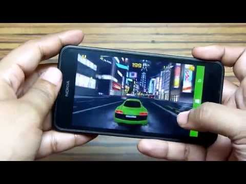 Nokia Lumia 630 Gaming Test: Asphalt 8,Hot Pursuit,Six-Guns,Assassin's Creed