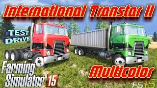"[""International Transtar II Multicolor"", ""farming simulator 2015"", ""simulator"", ""farming"", ""mods"", ""mod""]"