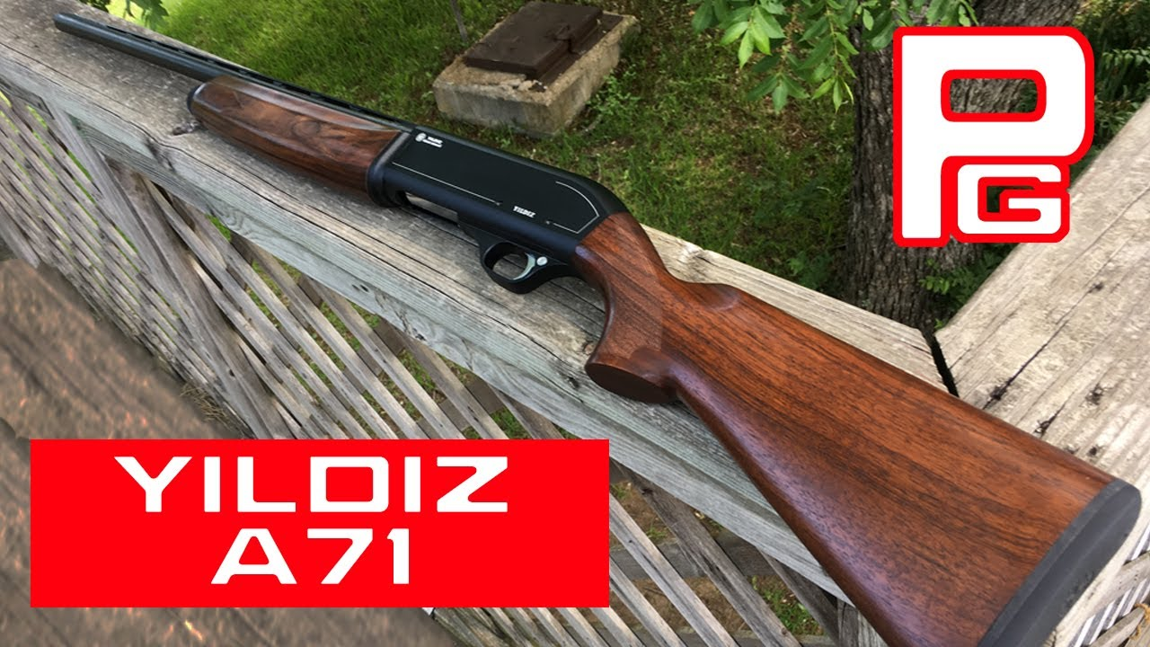 Yildiz A71 Semi-Auto Shotgun Review - YouTube