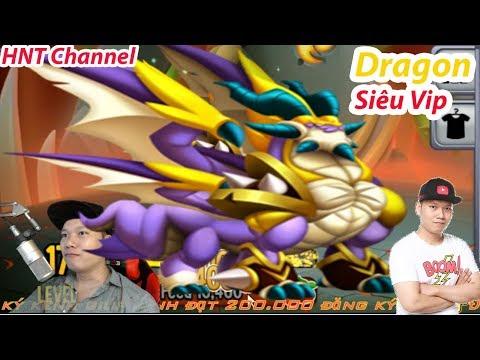 ✔️Lap 21 Thần Võ Vip Xinh Đẹp Dragon City HNT chơi game Nông Trại Rồng HNT Channel New