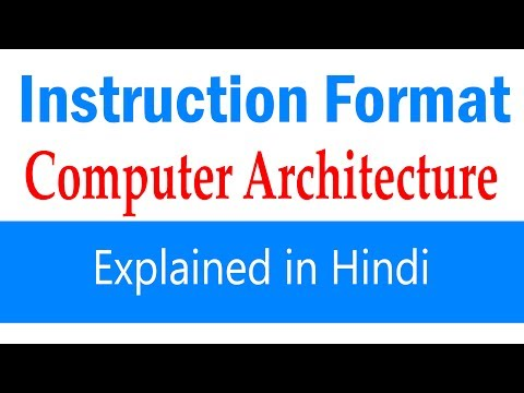 Instruction Formats | CRIS JSE | CIL System/IT | MPPSC System Analyst| Most Important