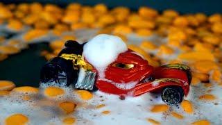 Игрушечные машинки. Автомойка. Видео для детей с машинками