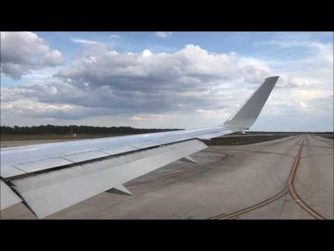 American 767-300ER Turbulent Takeoff From Orlando International Airport