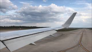 American 767-300ER Turbulent Takeoff from Orlando International Airport