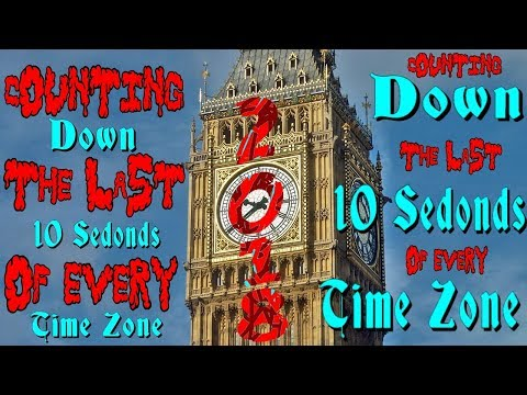 New Years Countdown For Every Time Zone 2018 ~ flinkAdink TimeZone Special #3