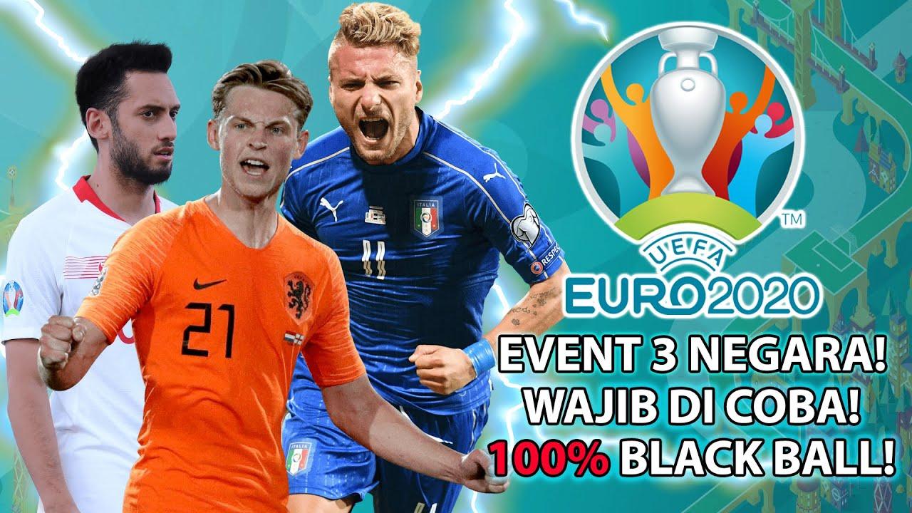 BORONG SEMUA BLACK BALL-NYA! EVENT EURO EMANG PALING MANTAP! BANTAI LAWAN SAMPAI GK BERKUTIK! NGAKAK