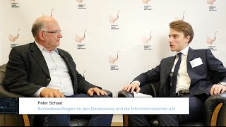HUFW Symposium 2015 | Interview Peter Schaar