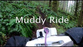 Maico 700 Muddy Ride (Dirtbike Riding S4 E13)
