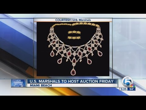 U.S. Marshal Service to host auction Friday