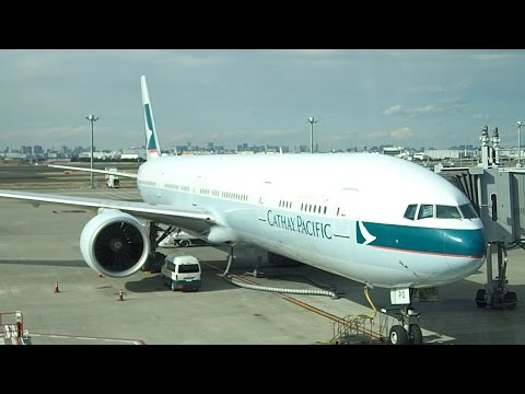 Flight Review Cathay Pacific Tokyo to Hong Kong Business Class B777-300ER