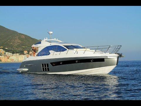 Azimut 55S Miami Boat Show 2015 mp4 HD English
