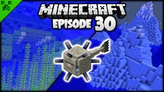 Minecraft Ocean Monument & ICEBERGS! | Python's World (Minecraft Survival Let's Play) | Episode 30