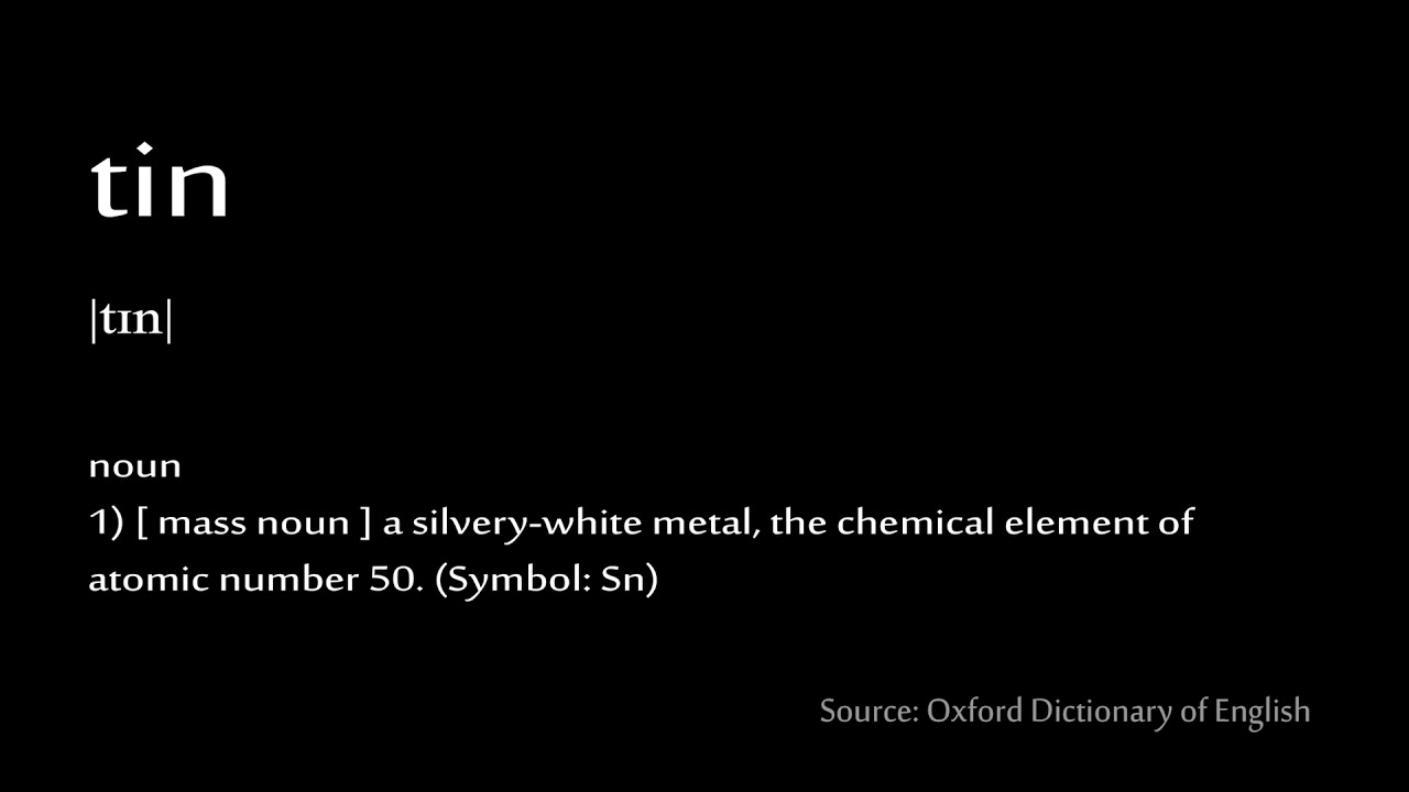 50 Tin How To Pronounce Chemical Elements Periodic Table Youtube