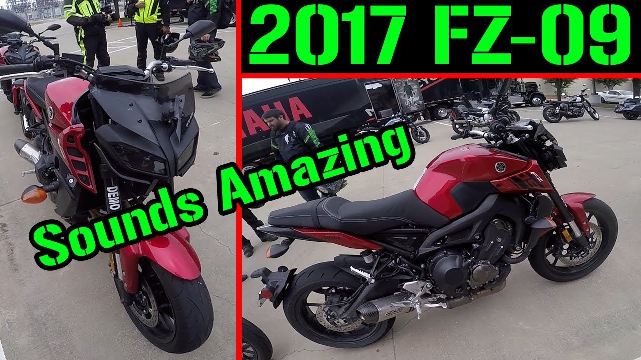 2017 Yamaha FZ-09 First Ride w/ Yoshimura Full Exhaust
