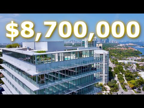 $8,700,000 PENTHOUSE WITH A POOL IN COCONUT GROVE, FL  | Walk Through Tour | Luxury Home Tours: EP19