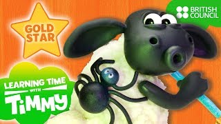 Spooky Sounds | Learning Time with Timmy | Learn New Words | Full Episodes