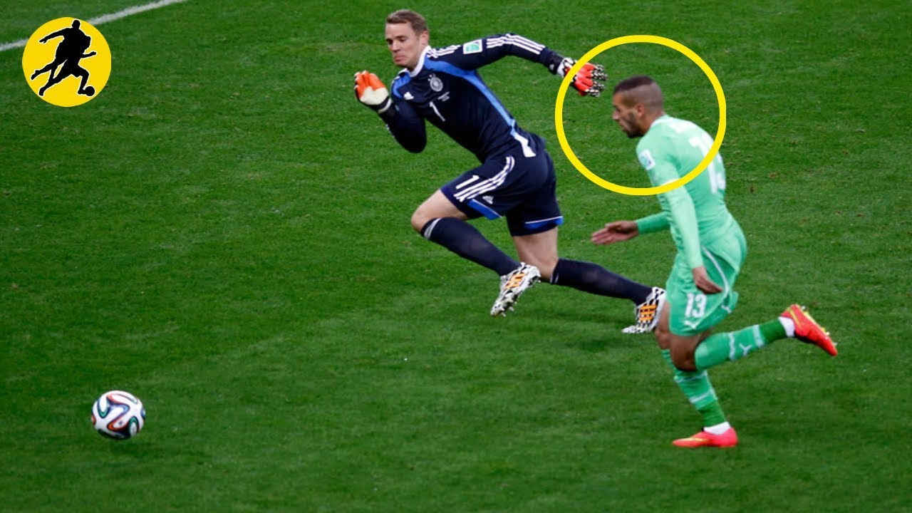 GoalKeeper Saves That Shocked The World At The World Cup
